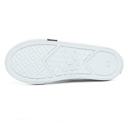 rubber sole shoe