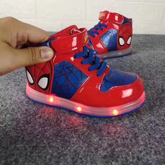 led flashing shoe light